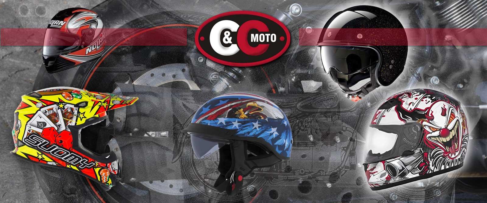 Přilby pro motorkáře